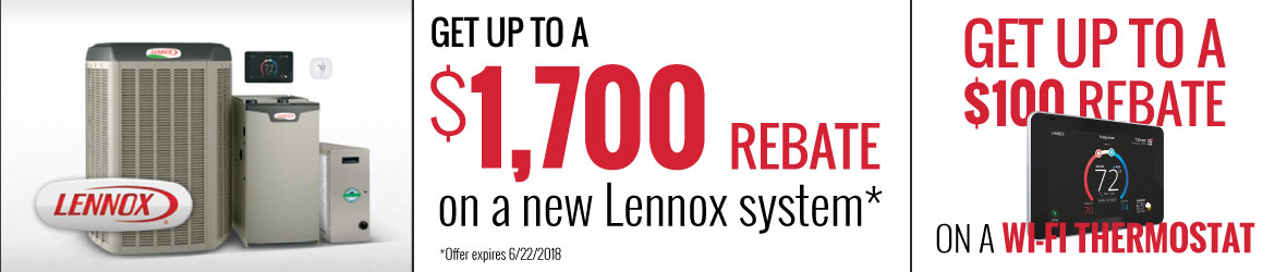 Lennox Specials - Save up to $1700!