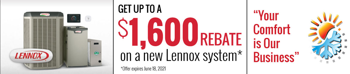 Lennox Specials - Save up to $1600!
