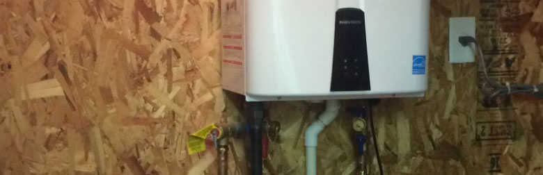 Navien Tankless Water Heaters are efficient and reliable!